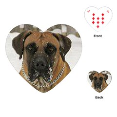 Boerboel  Playing Cards (Heart)