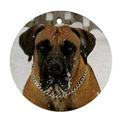 Boerboel  Round Ornament (Two Sides)