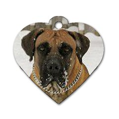 Boerboel  Dog Tag Heart (One Side)