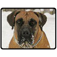 Boerboel  Fleece Blanket (Large)