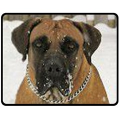 Boerboel  Fleece Blanket (Medium)