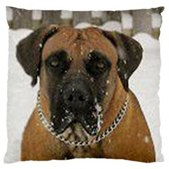 Boerboel  Large Cushion Case (One Side)