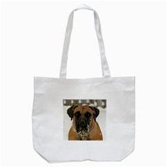 Boerboel  Tote Bag (White)