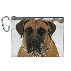 Boerboel  Canvas Cosmetic Bag (XL)