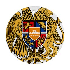Coat of Arms of Armenia Ornament (Round)