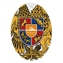 Coat of Arms of Armenia Ornament (Oval)