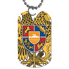 Coat of Arms of Armenia Dog Tag (Two Sides)