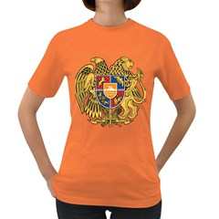 Coat of Arms of Armenia Women s Dark T-Shirt