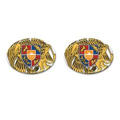 Coat of Arms of Armenia Cufflinks (Oval)