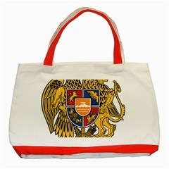 Coat of Arms of Armenia Classic Tote Bag (Red)