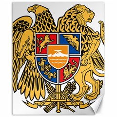 Coat of Arms of Armenia Canvas 16  x 20