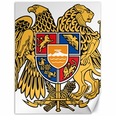 Coat of Arms of Armenia Canvas 18  x 24