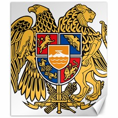 Coat of Arms of Armenia Canvas 20  x 24