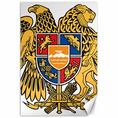 Coat of Arms of Armenia Canvas 20  x 30