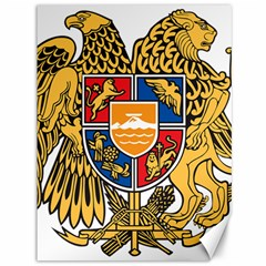 Coat of Arms of Armenia Canvas 36  x 48