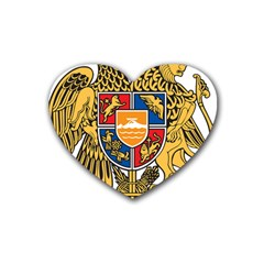 Coat of Arms of Armenia Heart Coaster (4 pack)