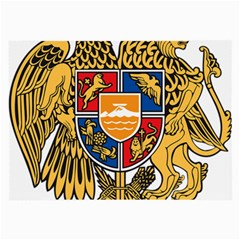 Coat of Arms of Armenia Large Glasses Cloth (2-Side)