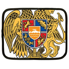 Coat of Arms of Armenia Netbook Case (Large)