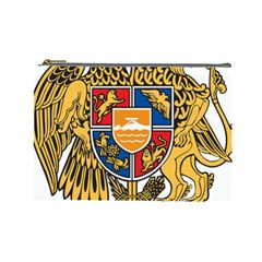 Coat of Arms of Armenia Cosmetic Bag (Large)