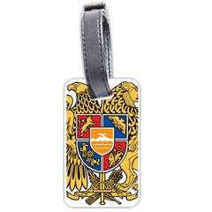 Coat of Arms of Armenia Luggage Tags (One Side)