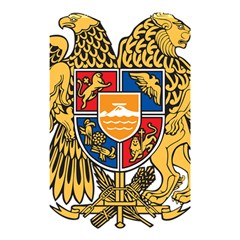 Coat of Arms of Armenia Shower Curtain 48  x 72  (Small)