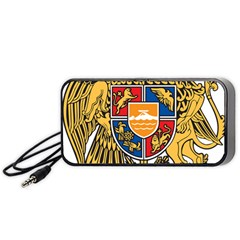 Coat of Arms of Armenia Portable Speaker (Black)