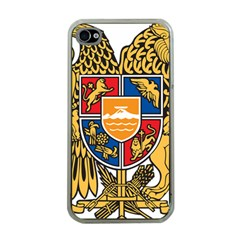 Coat of Arms of Armenia Apple iPhone 4 Case (Clear)