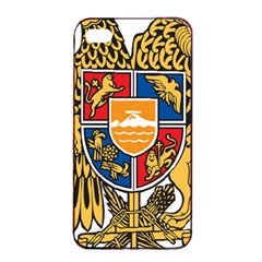 Coat of Arms of Armenia Apple iPhone 4/4s Seamless Case (Black)