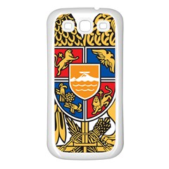 Coat of Arms of Armenia Samsung Galaxy S3 Back Case (White)