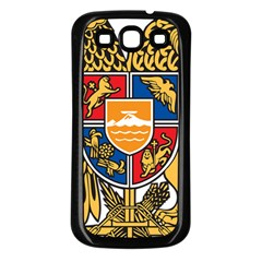 Coat of Arms of Armenia Samsung Galaxy S3 Back Case (Black)
