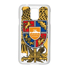 Coat of Arms of Armenia Samsung Galaxy S5 Case (White)