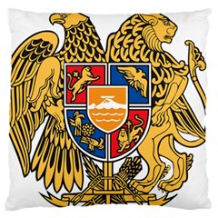 Coat of Arms of Armenia Large Flano Cushion Case (One Side)