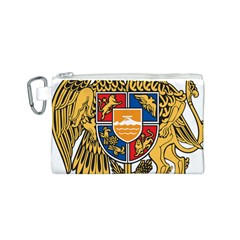 Coat of Arms of Armenia Canvas Cosmetic Bag (S)