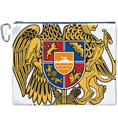 Coat of Arms of Armenia Canvas Cosmetic Bag (XXXL)