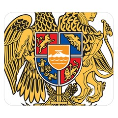Coat of Arms of Armenia Double Sided Flano Blanket (Small)