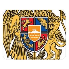 Coat of Arms of Armenia Double Sided Flano Blanket (Large)