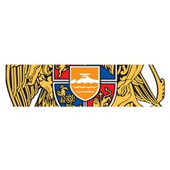 Coat of Arms of Armenia Satin Scarf (Oblong)