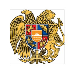 Coat of Arms of Armenia Small Satin Scarf (Square)