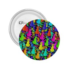 Colorful cats 2.25  Buttons