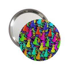 Colorful cats 2.25  Handbag Mirrors