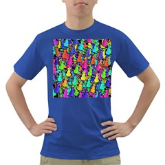 Colorful cats Dark T-Shirt