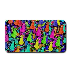 Colorful cats Medium Bar Mats