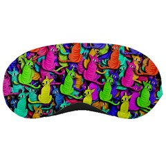 Colorful cats Sleeping Masks