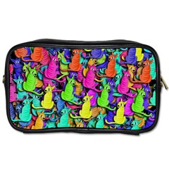 Colorful cats Toiletries Bags
