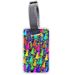Colorful cats Luggage Tags (Two Sides)