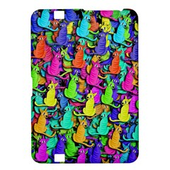 Colorful cats Kindle Fire HD 8.9