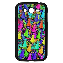 Colorful cats Samsung Galaxy Grand DUOS I9082 Case (Black)