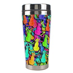 Colorful cats Stainless Steel Travel Tumblers