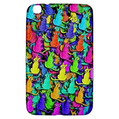 Colorful cats Samsung Galaxy Tab 3 (8 ) T3100 Hardshell Case