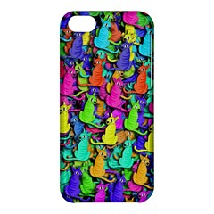 Colorful cats Apple iPhone 5C Hardshell Case